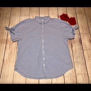 Gap Button Down Blouse
